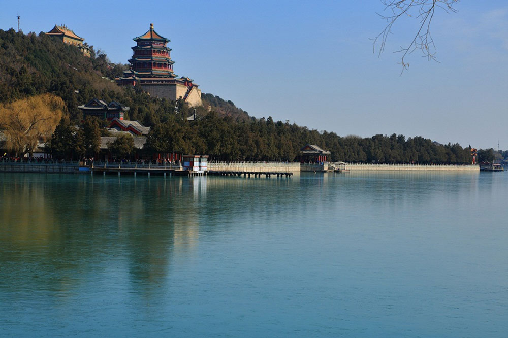 Летний дворец и озеро Куньмин