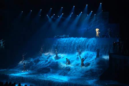 Ночной Водопад Шоу Золотая Маска