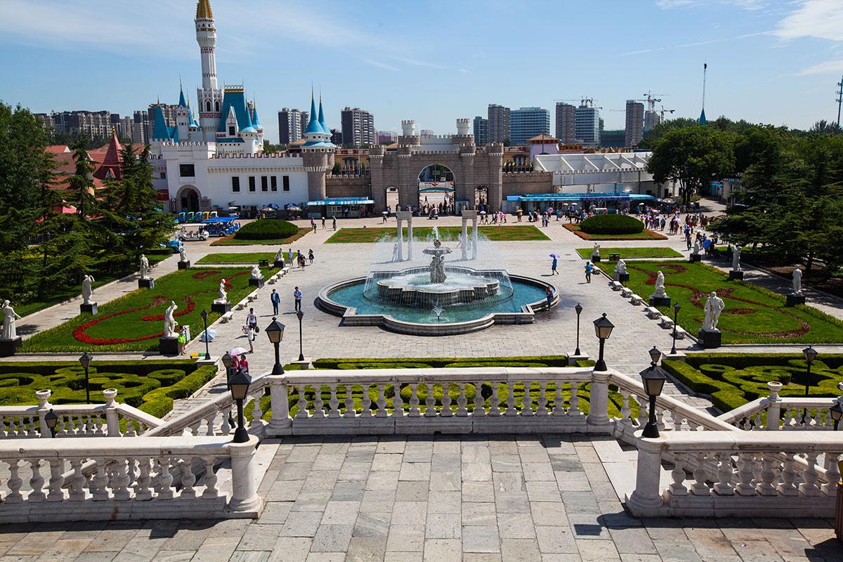 Пекин Парк Мира: Дворцовая Площадь