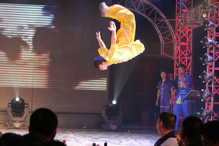 Шоу Гунфу в Пекине