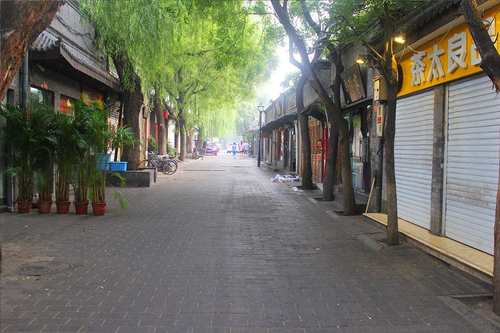 Улица в районе хутунов
