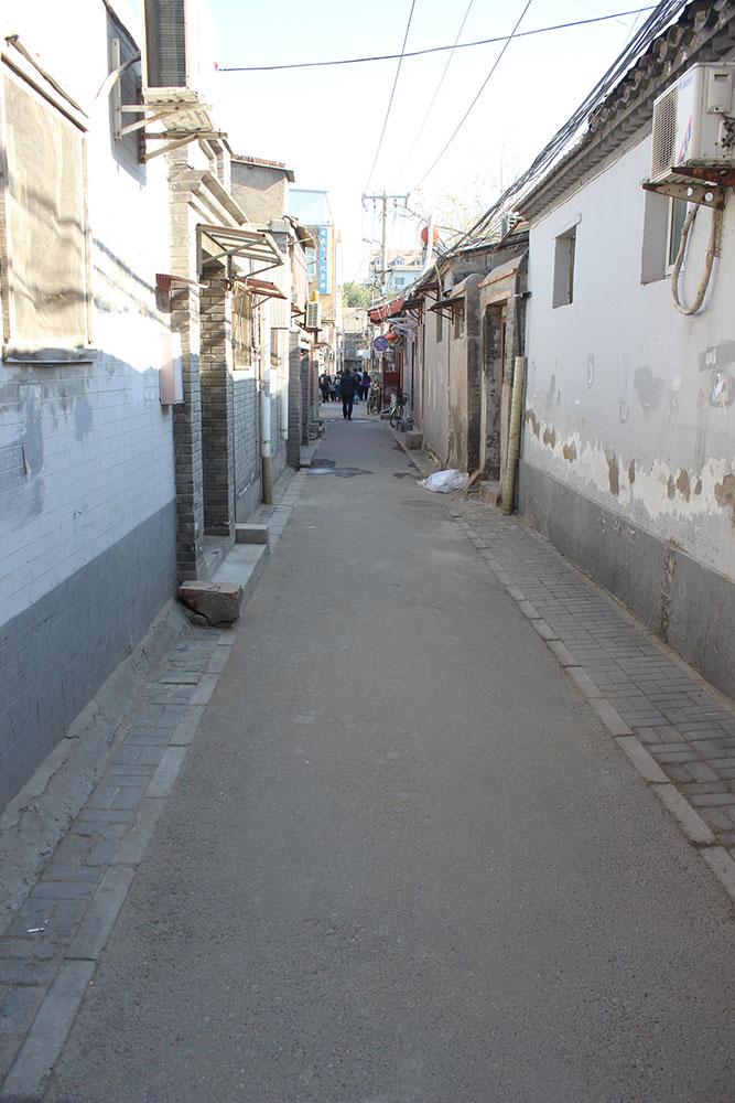 Улочка в районе хутунов